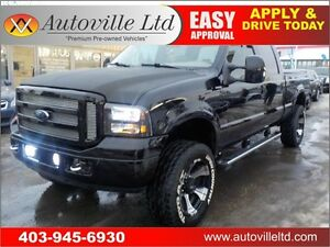 2007 Ford F-350 SD Lariat Crew Cab 4WD LIFTED RIMS
