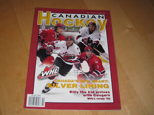 Canadian Hockey Magazine - WHL - Vol 25 No2 2001-02