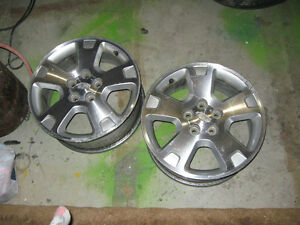 17 inch ford freestyle aluminum rims