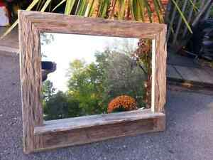 Barn board frames