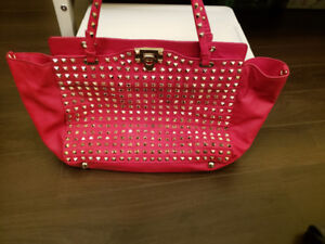 Studded New Red Valentino Leather Bag