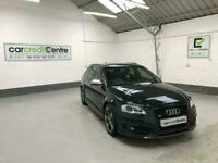 Used, *FROM £72 PER WEEK* BLACK AUDI A3 S3 SPORTBACK 2.0 QUATTRO BLACK EDITION 261 BHP for sale  Liverpool, Merseyside