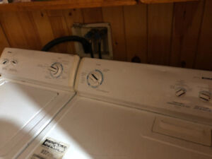 Used washer and dryer killaloe