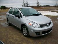 2011 Nissan Versa 4 dr Sedan only 50 km loaded