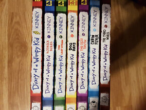 Diary of a Wimpy Kid Series (Excellent Condition)