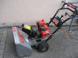 """Craftsman 4hp 21"""" Dual Stage Snowblower Made in Canada"""