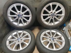 17 inch 5x112 genuine Mercedes A Class W177 alloy wheels