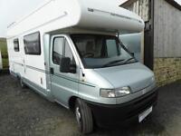 Bessacarr E645 2 berth rear washroom twin sofa Coachbuilt Motor Home for sale