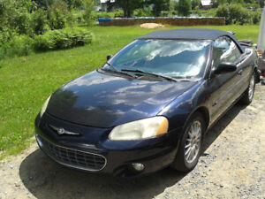 chrysler sebring 2001 decapotable