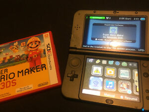 "Nintendo ""new"" 3DS and Mario maker"