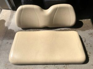Golf cart seat (two-pieces)