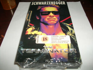 TERMINATOR 1 & 2 VHS TAPES. EXCELLENT SHAPE