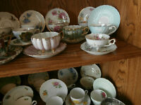 Just Unpacked - 3 Legged Cups and Saucers at KeepSakes
