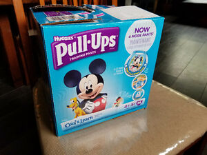 Huggies pull ups training pants diapers 2T to 5T
