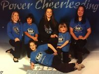 Special needs, tumbling and cheerleading