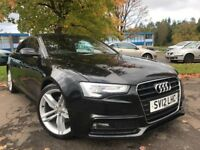 Audi A5 2.0 TDI S LINE 177PS (black) 2012