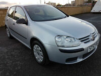 2007 VOLKSWAGEN GOLF 1.4 S WITH SERVICE HISTORY