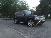 Range Rover vogue tdv6 will take part ex car or commercial