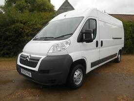 2013 63 CITROEN RELAY 2.2HDI L3H2 LWB ENTERPRISE AIRCON VERY VERY CLEAN VAN