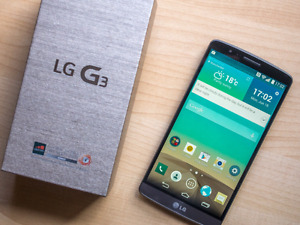 Mint LG G3 Unlocked trade for Htc M9 or S6 Active