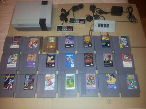 NES Console and Games. Prices are Firm Thanks