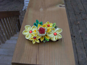 Beauty & The Beast Kanzashi Hair Accessories!