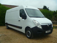 2011 11 VAUXHALL MOVANO 2.3CDTI 125BHP EURO 5 6SPEED LWB 1 OWNER VERY CLEAN