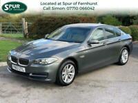 2013 63 BMW 5 SERIES 2.0 520D SE 4D 181 BHP DIESEL