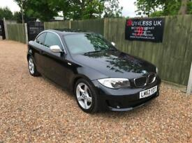 2012/62 BMW 118 2.0TD Exclusive Edition Coupe Service History £0 Deposit Finance