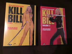 KILL BILL vol 1 & 2 on DVD (Excellent Used Condition)