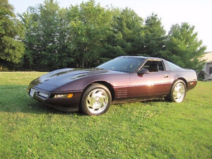 1994 Black Rose Corvette Coupe