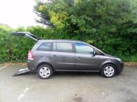 Vauxhall Zafira 1.8i 16v Exclusiv WAV Wheelchair Accessible Vehicle*LOW MILEAGE