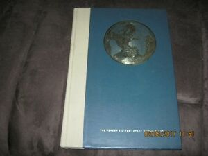 """1961 The Readers Digest Great World Atlas. 15.75"""" x 11""""."""