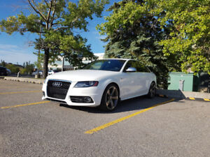 2012 Audi S4 - Red/Black Interior, 104K KMS, Well Maintained