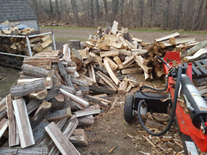Truckload of Firewood: poplar, white poplar, and spruce