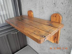 2 wooden shelves West Island Greater Montréal image 7