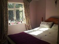 House share - Large furnished double room with private luxury bathroom available now (Bills inc)