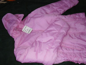 Girls soft pink jacket