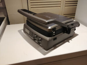 Cuisinart Stainless Steel Griddler & Panini Press