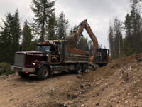 Excavating and land clearing