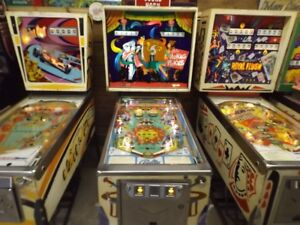 Spin out Gottlieb pinball machine starting at $1495 and up