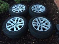"""Bmw 16"""" alloy wheels"""