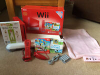 Red Wii Bundle! In box, great Christmas Gift!!!