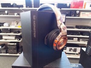 Monster 24K Rosegold Headphones @ Cashopolis!