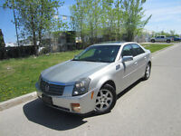 2005 CADILLAC CTS LUXURY PACKAGE LEATHER MOON REM START WARRANTY