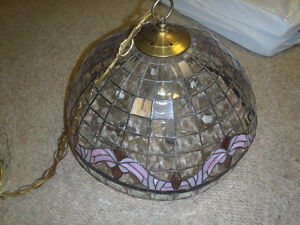 Stained Glass Dome Kitchen Light - $30.00 Dollars
