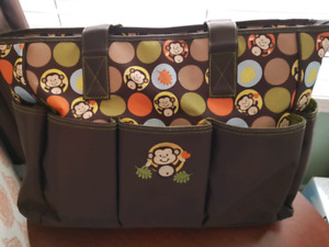 Baby Items:Diaper bags, wipes warmer,baby carrier, car seat cove