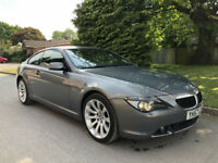 2007 BMW 630I SPORT AUTOMATIC COUPE GREY **OUTSTANDING CONDITION**