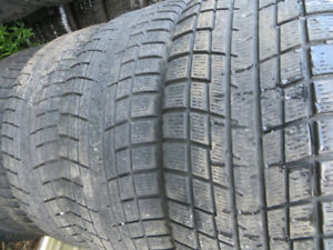 4 p225/55r17 severe snow rated winter tires
