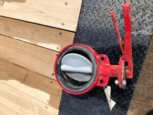 New 8 Inch Butterfly Valve For Irrigation Pipeline